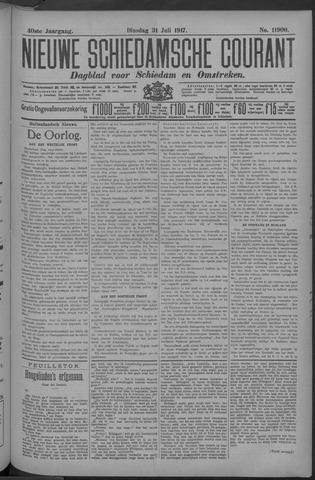 Nieuwe Schiedamsche Courant 1917-07-31