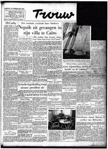 Trouw / De Rotterdammer 1954-02-26