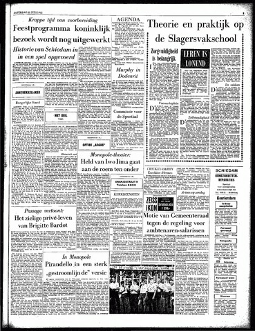 Rotterdamsch Parool / De Schiedammer 1962-06-23