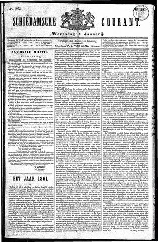 Schiedamsche Courant 1862-01-01