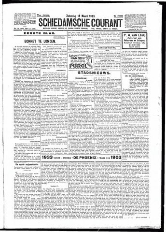 Schiedamsche Courant 1933-03-18