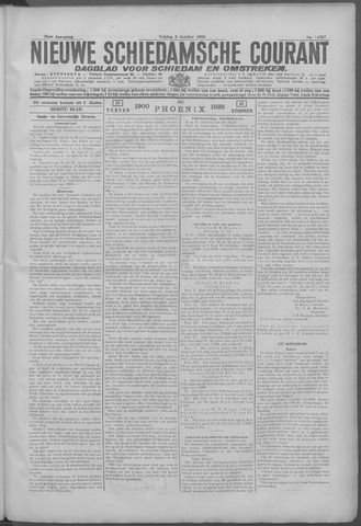Nieuwe Schiedamsche Courant 1925-10-02