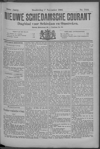 Nieuwe Schiedamsche Courant 1901-11-08