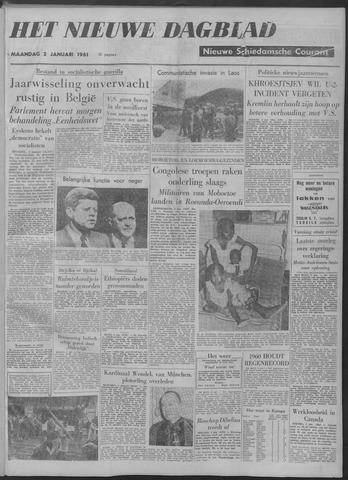 Nieuwe Schiedamsche Courant 1961-01-02