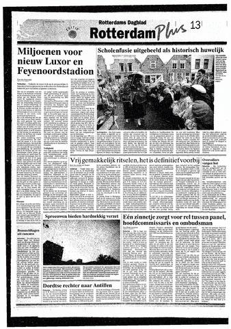 Rotterdamsch Nieuwsblad / Schiedamsche Courant / Rotterdams Dagblad / Waterweg / Algemeen Dagblad 1993-09-18