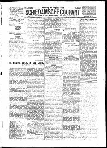 Schiedamsche Courant 1933-08-30