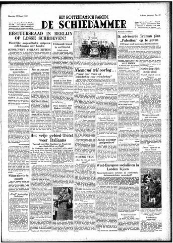 Rotterdamsch Parool / De Schiedammer 1948-03-22