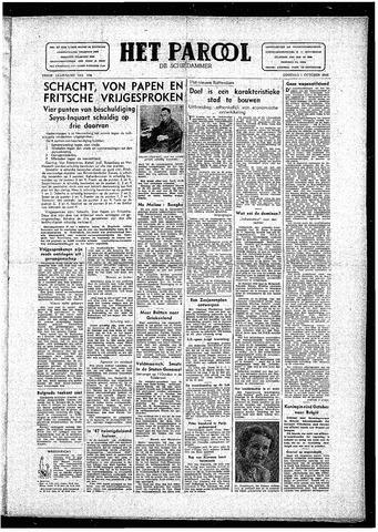 Rotterdamsch Parool / De Schiedammer 1946-10-01