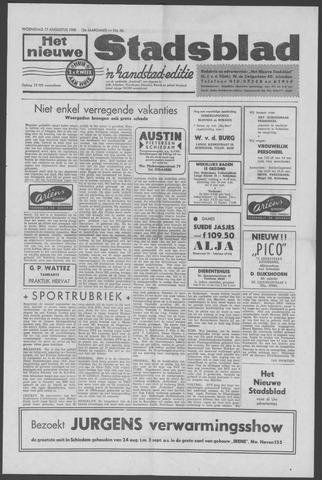 Het Nieuwe Stadsblad 1960-08-17