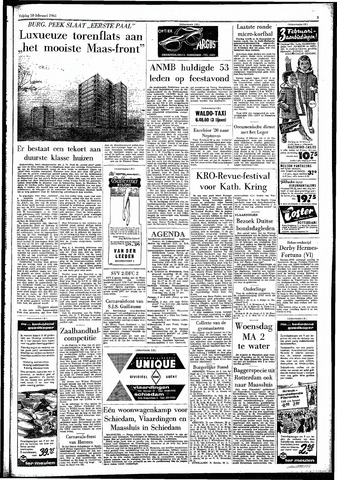 Rotterdamsch Parool / De Schiedammer 1961-02-10