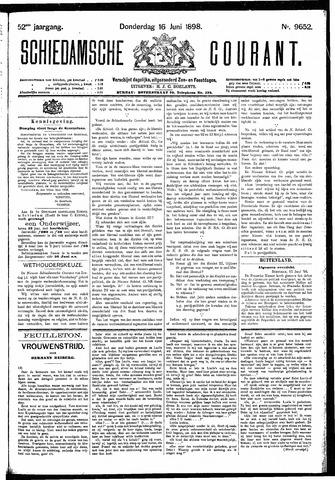 Schiedamsche Courant 1898-06-16