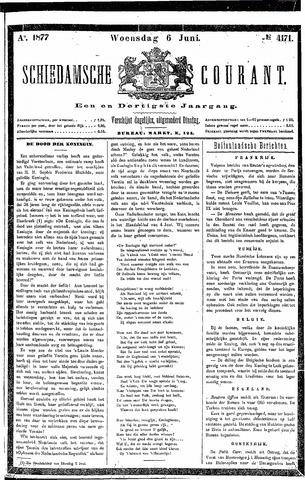 Schiedamsche Courant 1877-06-06