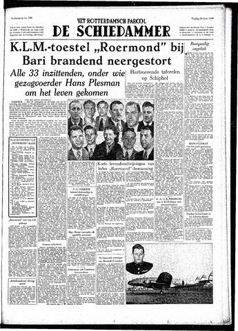 Rotterdamsch Parool / De Schiedammer 1949-06-24