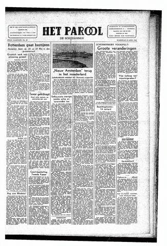 Rotterdamsch Parool / De Schiedammer 1946-04-10