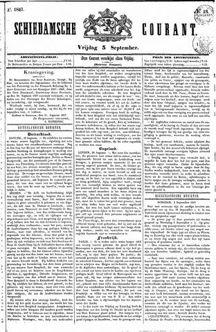 Schiedamsche Courant 1847-09-03