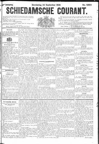 Schiedamsche Courant 1908-09-24