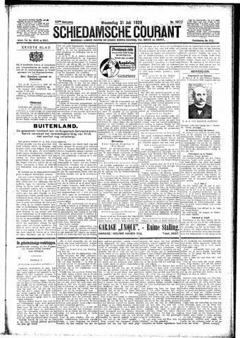 Schiedamsche Courant 1929-07-31