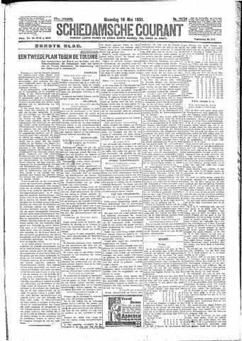 Schiedamsche Courant 1931-05-18