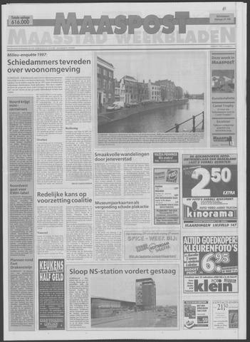 Maaspost / Maasstad / Maasstad Pers 1998-03-18