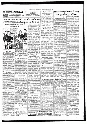 Rotterdamsch Nieuwsblad / Schiedamsche Courant / Rotterdams Dagblad / Waterweg / Algemeen Dagblad 1965-08-03