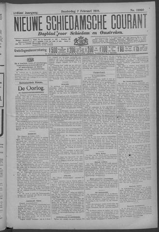 Nieuwe Schiedamsche Courant 1918-02-07