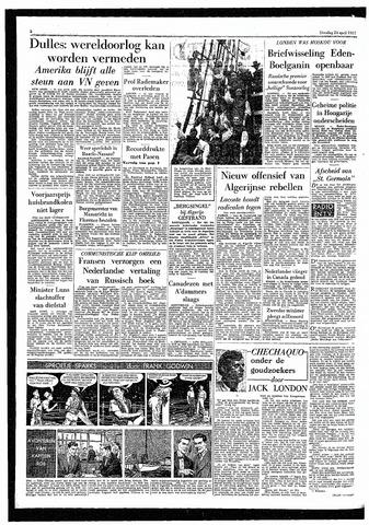 Rotterdamsch Parool / De Schiedammer 1957-04-23