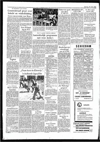 Rotterdamsch Parool / De Schiedammer 1955-04-30