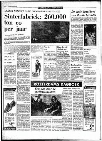 Rotterdamsch Parool / De Schiedammer 1970-10-09