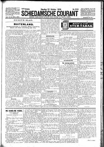 Schiedamsche Courant 1929-10-22