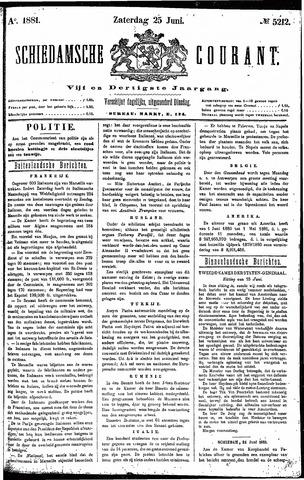 Schiedamsche Courant 1881-06-25