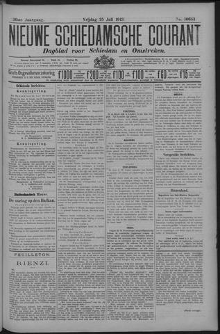 Nieuwe Schiedamsche Courant 1913-07-25
