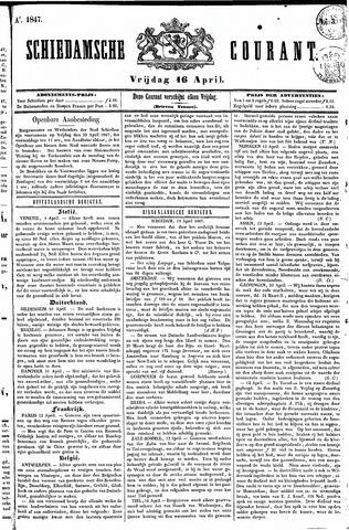 Schiedamsche Courant 1847-04-16