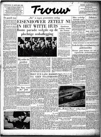 Trouw / De Rotterdammer 1953-01-21