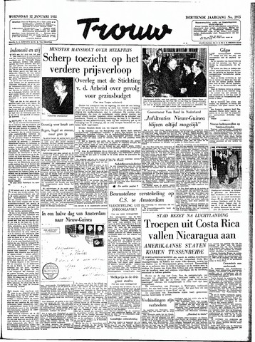 Trouw / De Rotterdammer 1955-01-12