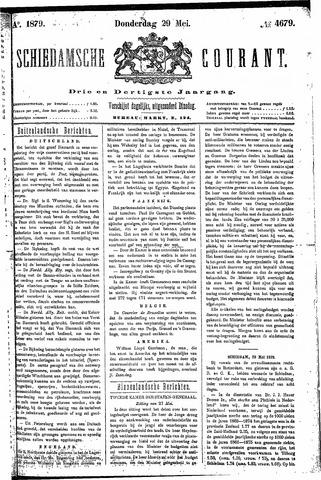 Schiedamsche Courant 1879-05-29