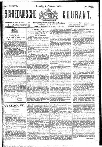 Schiedamsche Courant 1898-10-11