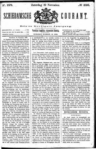 Schiedamsche Courant 1879-11-22