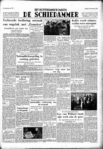 Rotterdamsch Parool / De Schiedammer 1949-12-30