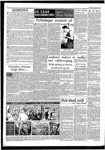 Rotterdamsch Parool / De Schiedammer 1957-08-13