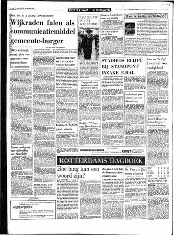 Rotterdamsch Parool / De Schiedammer 1968-11-23