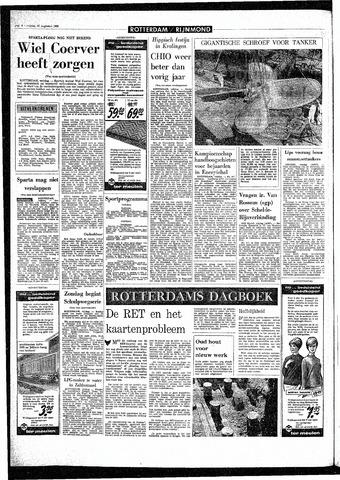 Rotterdamsch Parool / De Schiedammer 1968-08-16