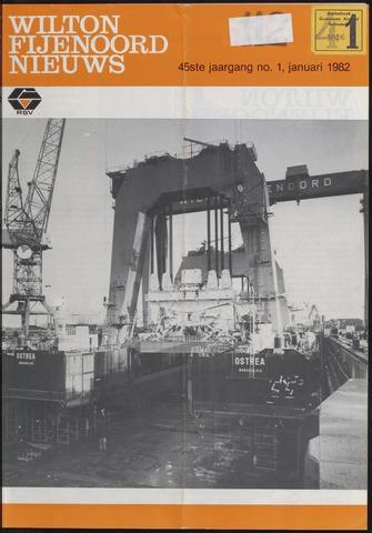 Wilton Fijenoord Nieuws 1982
