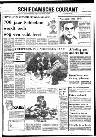 Rotterdamsch Nieuwsblad / Schiedamsche Courant / Rotterdams Dagblad / Waterweg / Algemeen Dagblad 1974-12-31