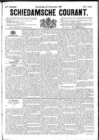 Schiedamsche Courant 1910-11-10