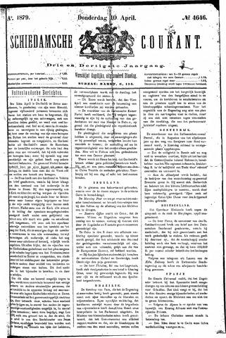 Schiedamsche Courant 1879-04-10