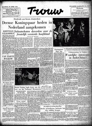 Trouw / De Rotterdammer 1954-04-26