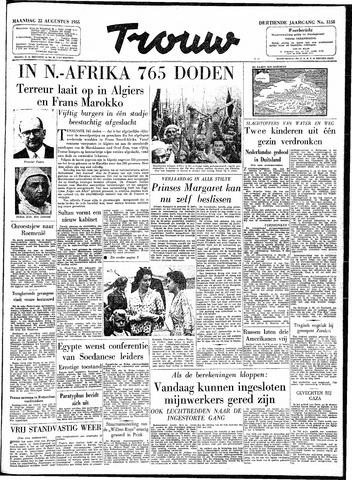 Trouw / De Rotterdammer 1955-08-22