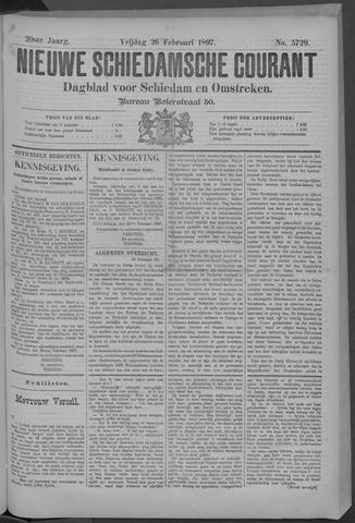 Nieuwe Schiedamsche Courant 1897-02-26