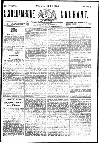 Schiedamsche Courant 1898-07-13