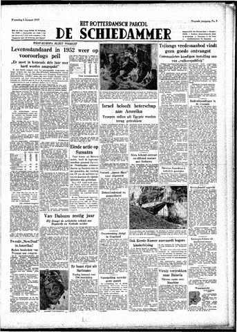 Rotterdamsch Parool / De Schiedammer 1949-01-05